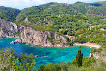 Ampelaki Beach, Paleokastritsa, Greece
