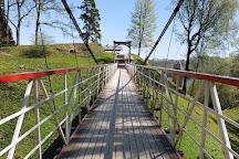 Viljandi Rope Bridge, Viljandi, Estonia