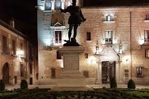 Monumento de Alvaro de Bazan, Madrid, Spain