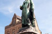 Jan Van Eyck Square, Bruges, Belgium