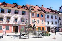 Marian and Holy Trinity Columns, Škofja Loka, Slovenia