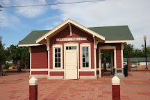 Santa Fe Depot Museum and Plaza, Pauls Valley, United States