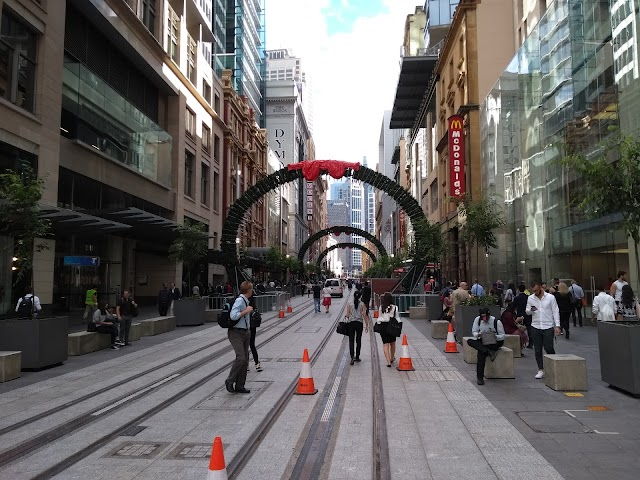 King St before George St