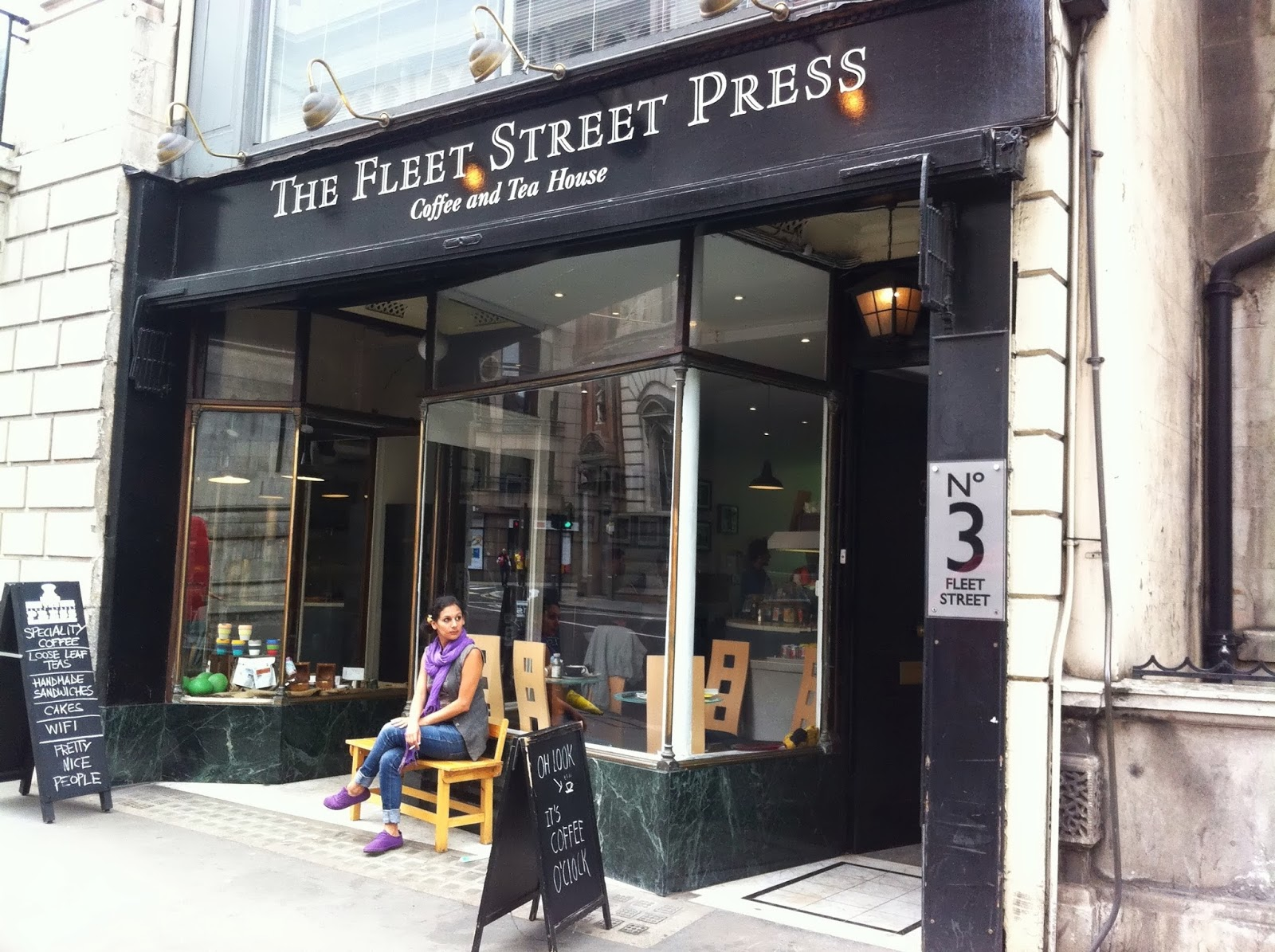 The Fleet Street Press: A Work-Friendly Place in London