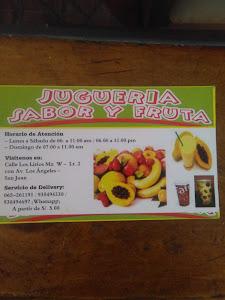 Snack & Juguería SABOR Y FRUTA 1