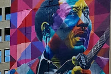 Muddy Waters Mural, Chicago, United States