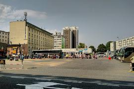 Автобусная станция   Katowice ul. Skargi Supersam