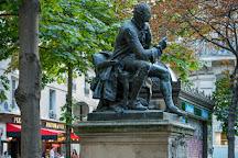 Statue de Diderot, Paris, France
