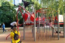 Parque del Centro de Poblenou, Barcelona, Spain