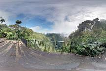 Point de vue sur le trou de fer, Hell-Bourg, Reunion Island