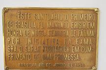 Igrejinha N.S. De Fatima church, Brasilia, Brazil
