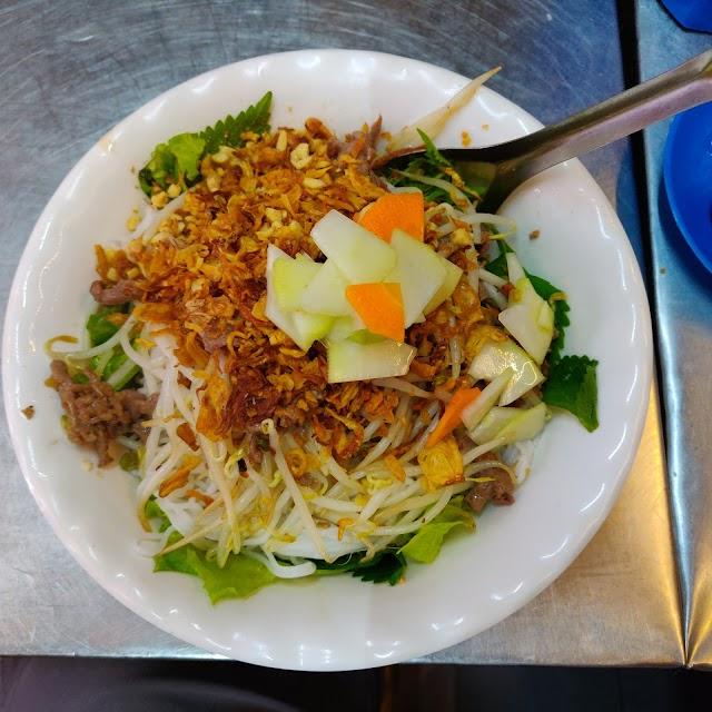 Bun Bo Nam Bo (Grilled Beef Noodle Salad)