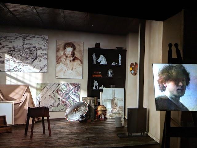 Young Rembrandt Studio