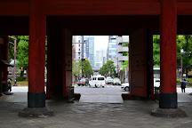 Sangedatsumon Gate, Shibakoen, Japan