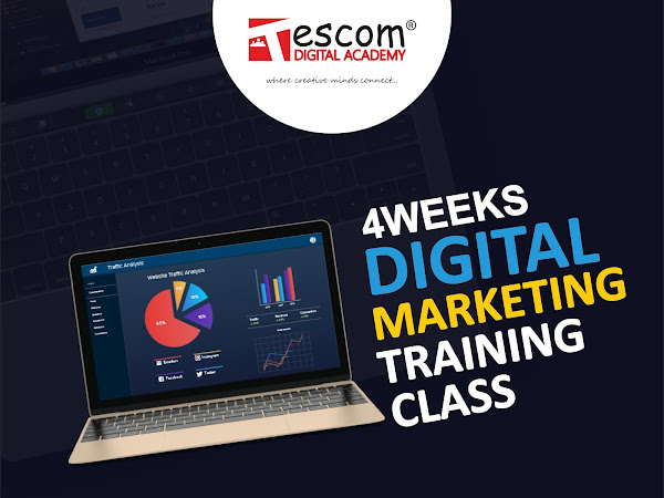 Tescom Digital Academy Web Design And Development Graphic Design Training Digital Marketing Training Course In Lagos Nigeria