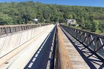Roebling Aqueduct Suspension Bridge, Lackawaxen, United States