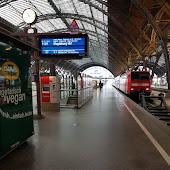 Железнодорожная станция  Leipzig Leipzig central