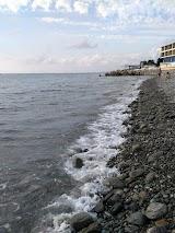 Пляж Багратіон поруч з Сочі