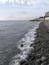 Пляж Багратион рядом с Сочи