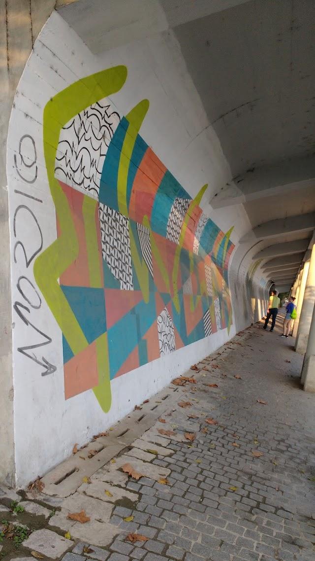 Mural De Streetart