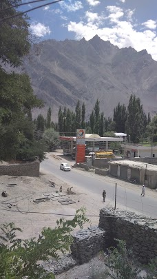 Angel's Peak Filling Station skardu