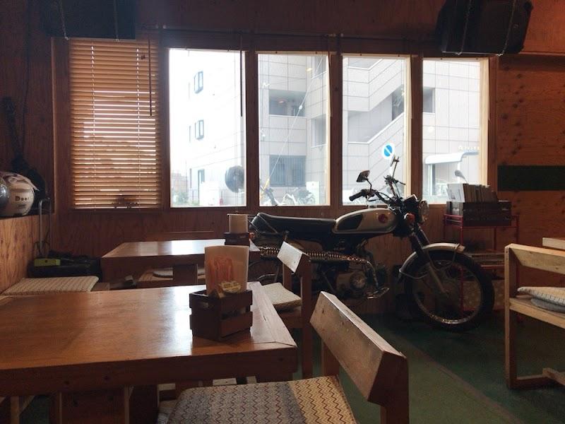 Bikes&Music cafe Door
