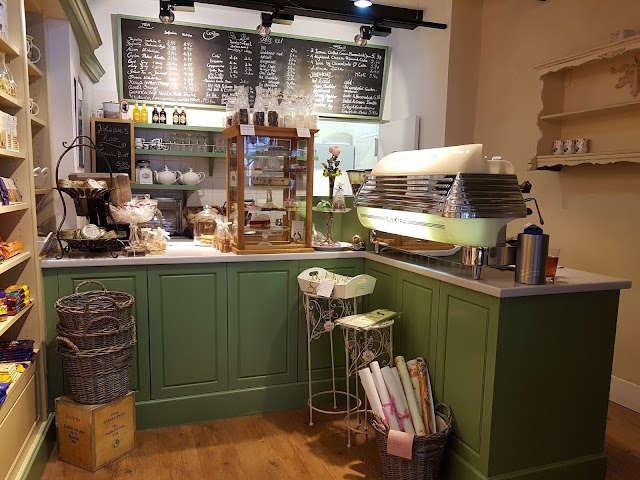 Johnsons Coffee Tea & Scones Fine British Goods Cafè