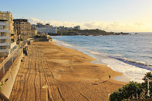 Plage du Miramar, Biarritz, France