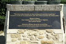 Richard D. Winters Leadership monumen, Sainte-Marie-du-Mont, France