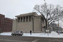 Frank Lloyd Wright's Unity Temple, Oak Park, United States