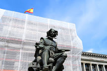 Monument Calderon de la Barca, Madrid, Spain