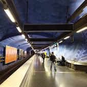 Станция метро  станции  Stockholm
