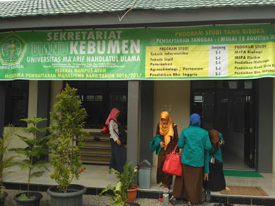 Program Studi Teknik Informatika Universitas Ma'arif Nahdlatul Ulama Kebumen ( UMNU Kebumen )
