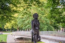 Monument to Alexander Pushkin, Riga, Latvia