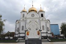 Voyskovoy sobor svyatogo blagovernogo knyazya Aleksandra Nevskogo, Krasnodar, Russia