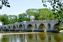 Meric River Bridge, Edirne, Turkey