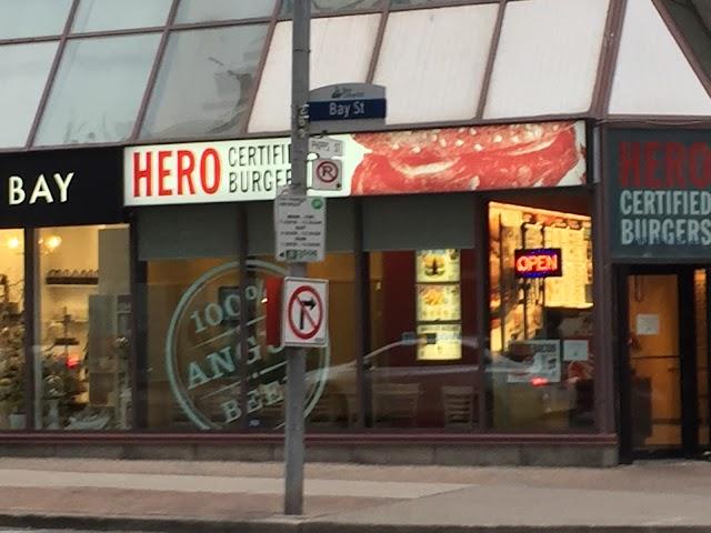 Hero Certified Burgers
