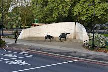 Animals in War Memorial, London, United Kingdom