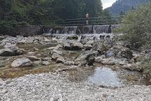 Natural Bathing Place Lajšt, Spodnja Idrija, Slovenia