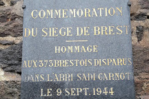 Abri Sadi Carnot, Brest, France