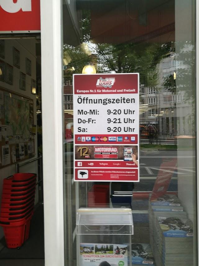 Louis Mega Shop Karlsruhe - Motorradbekleidung und Motorradzubehör