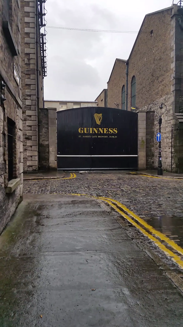 St. James Gate Brewery - One of the Gates...