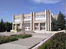 Центральная городская библиотека им. М. Горького, площадь Ленина на фото Пятигорска