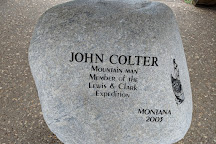John Colter Memorial, New Haven, United States