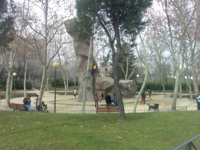 Rocódromo Parque Roma