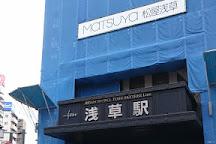 Asakusa Ekimise, Taito, Japan