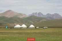 Song Kol Lake, Naryn, Kyrgyzstan