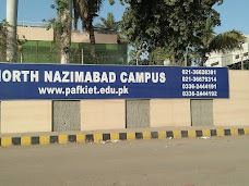 PAF-KIET North Nazimbad Campus karachi