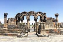 Zvartnots Temple, Vagharshapat, Armenia