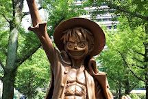 Monkey D. Luffy Statue, Kumamoto, Japan